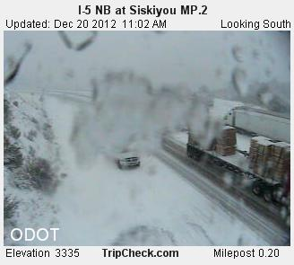 Siskiyou I-5 SB at MP.2_pid1685
