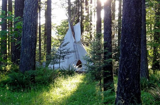 Tipi Village a top 'glamping' retreat