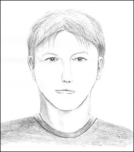 Sketch of suspect in August 2012 incidents