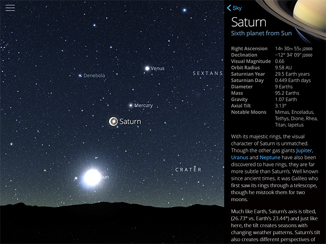 SkyGuide screenshots (6)