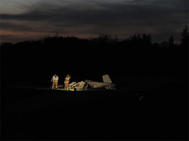 Small plane crash kills two November 26 (6)