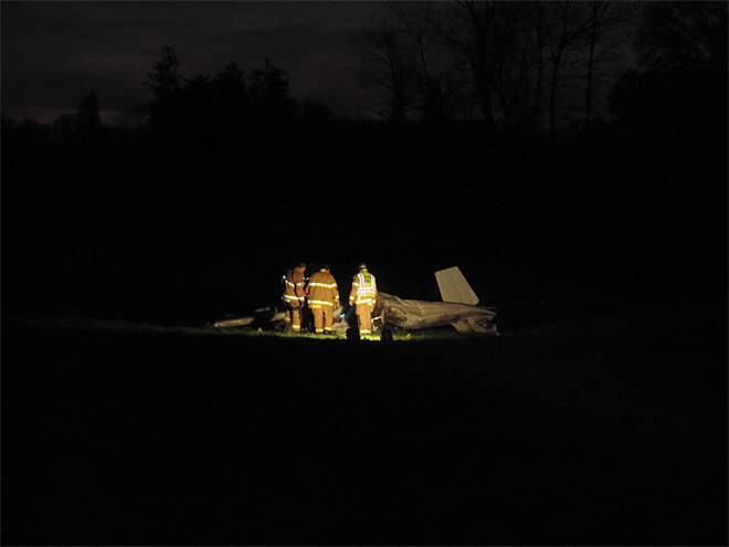 Small plane crash kills two November 26