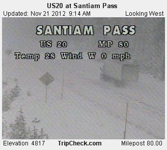 Snow on passes November21 (1)