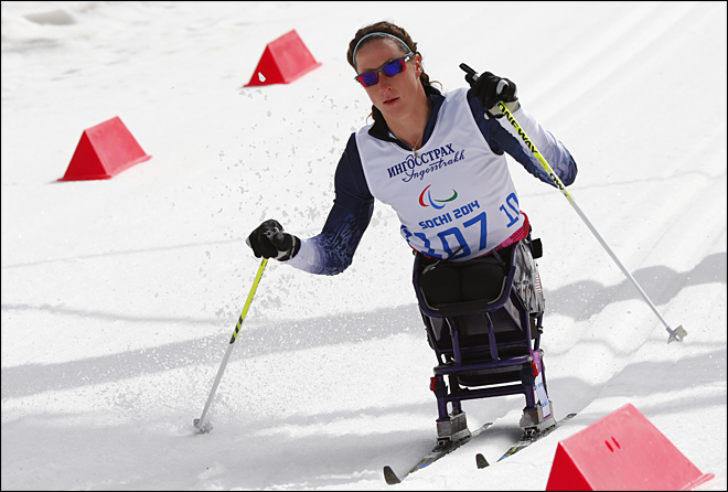 Sochi Paralympics Cross Country Ladies
