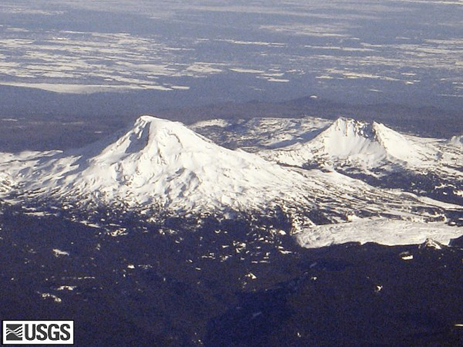 South Sister bulge slows down