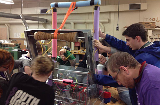 S. Eugene Robotics Team places 2nd in Pacific Northwest comp.