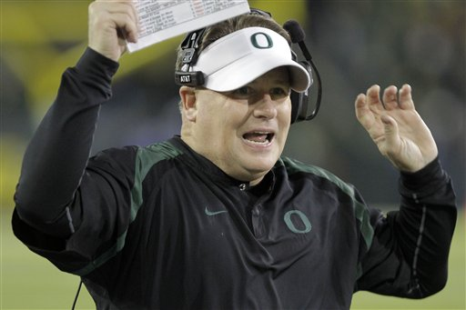 No. 4 Ducks upset by USC 38-35