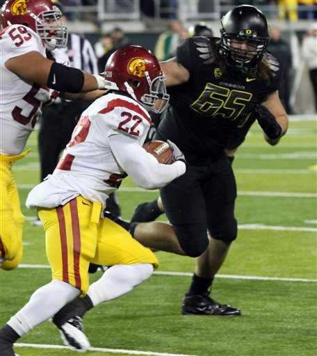 Southern Cal Oregon Football