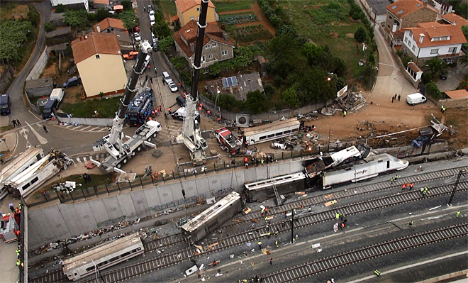 Dozens killed in passenger train derailment in Spain
