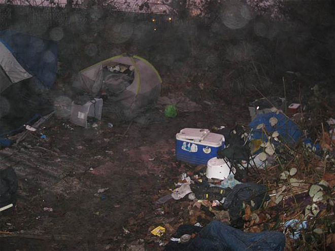 Police: 5 homeless arrested for camps polluting Springfield rivers