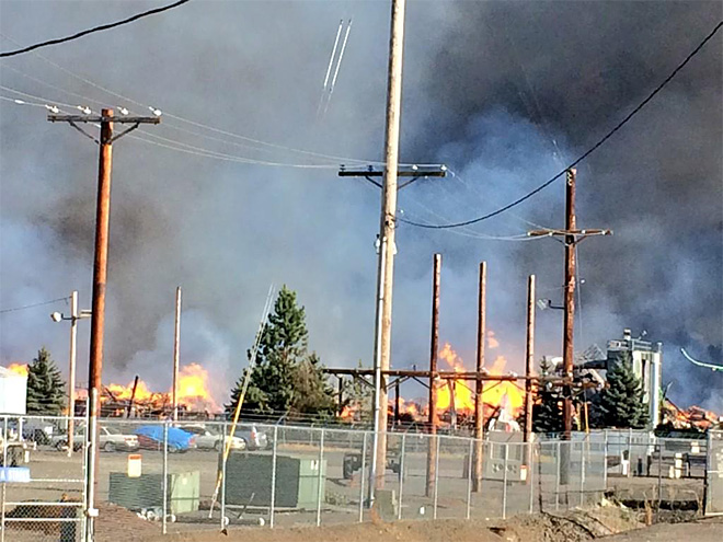 Workers safe after Springfield mill fire: 'He saw a wave of flames'