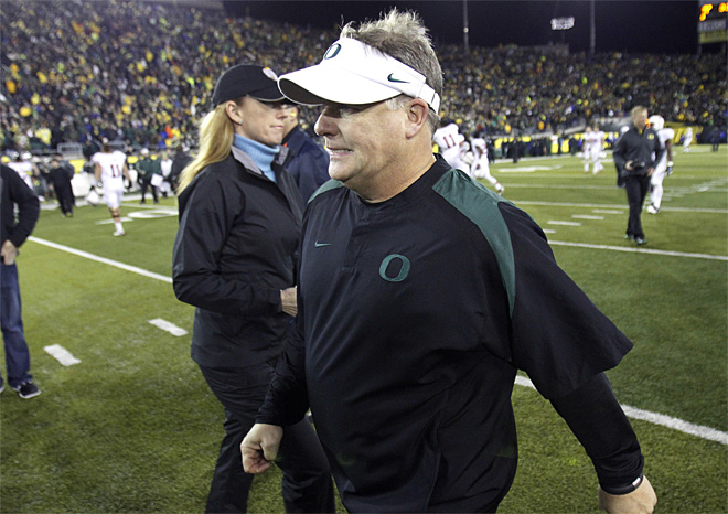 Chip Kelly and the Ducks get back to work