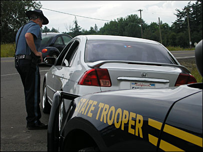 State police clock 113 applications per hour