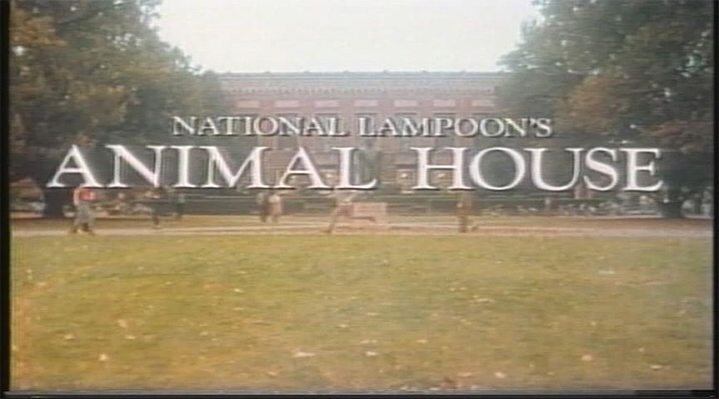 Animal House 'would not have been made without this community'