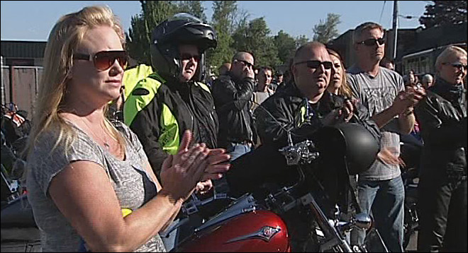 Riding for Officer Kilcullen: 'Chris was an amazing husband and father'