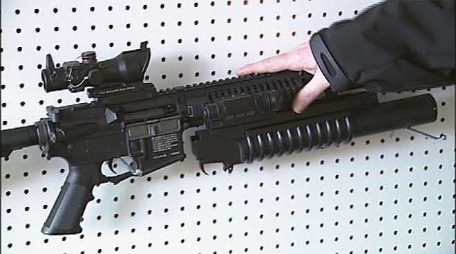 Store sells airsoft guns and supplies (2)