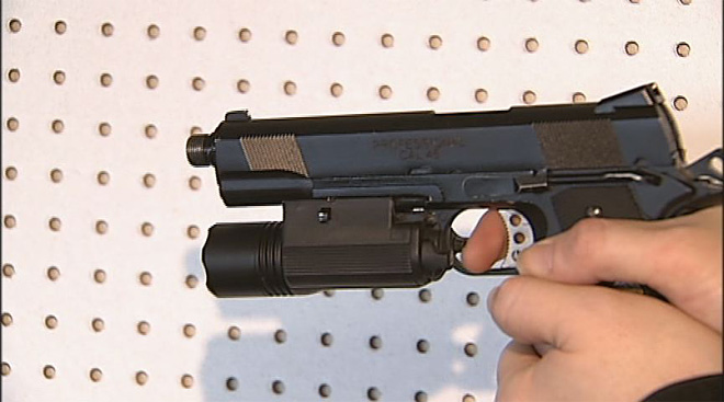 Store sells airsoft guns and supplies
