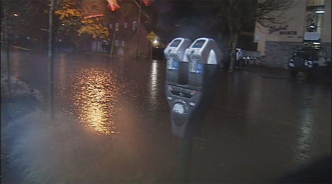Streets flood in Eugene November 19 (5)