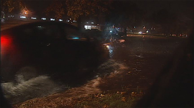 Streets flood in Eugene November 19 (6)