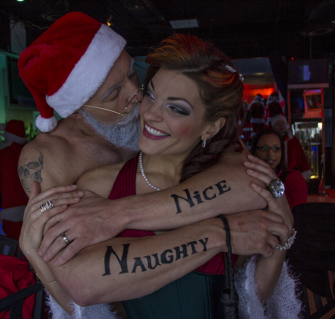 Stumptown SantaCon: 'Getting random people together and being ridiculous'