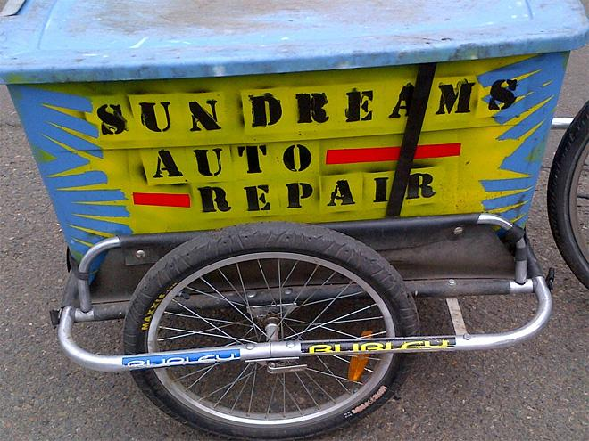 Man takes his motor repair biz to new green level