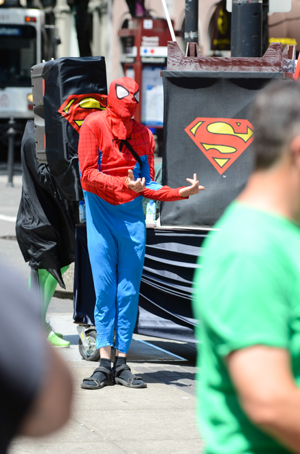 Superhero Pub Crawl 2013