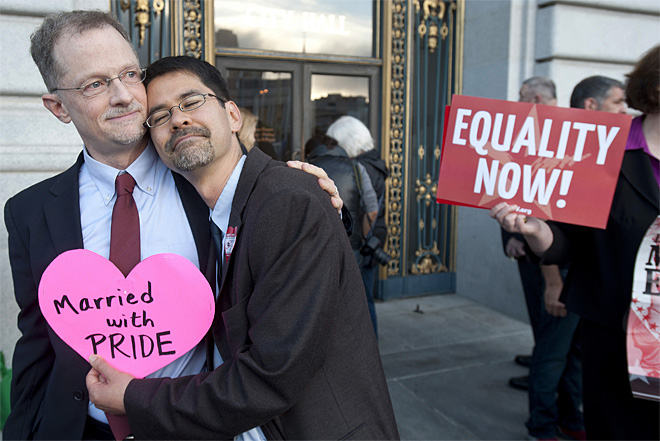 Supreme Court-Gay Marriage-Photo Gallery