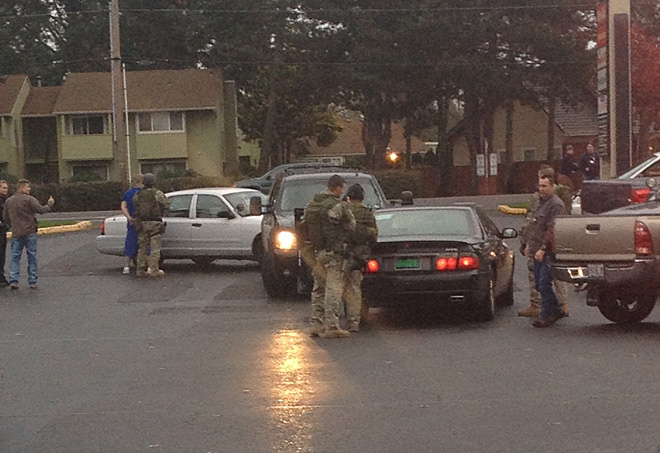 Suspect arrested for stabbing in early October - Photo sent in by Jose Carlos Gonzalez 1