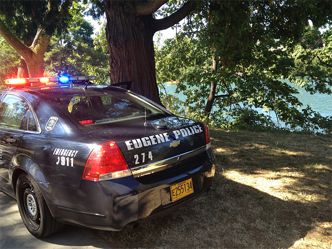 Suspect escapes into Willamette, officers make arrest at Skinner Butte Park