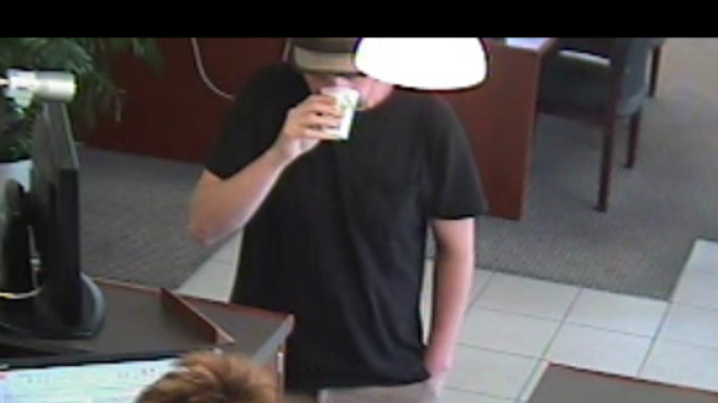 Suspect in bank robbery Monday September 9 (1)