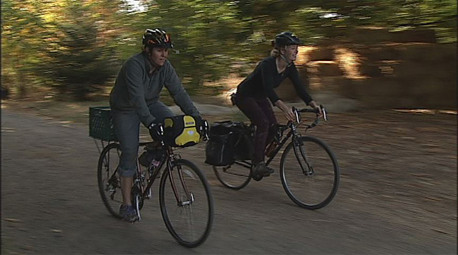 Sustainable farmers plan bike trip across USA (1)
