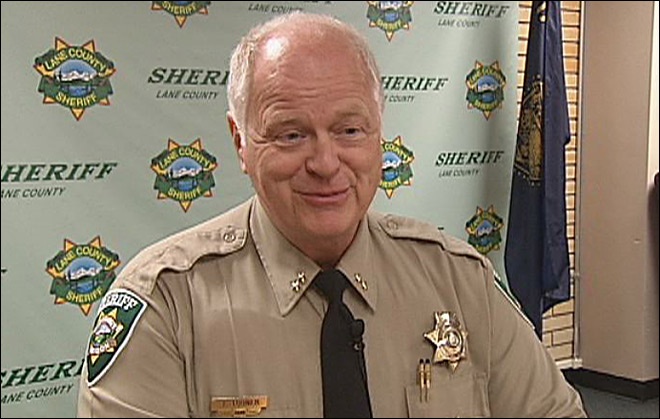 Possible job change for Lane County Sheriff Tom Turner