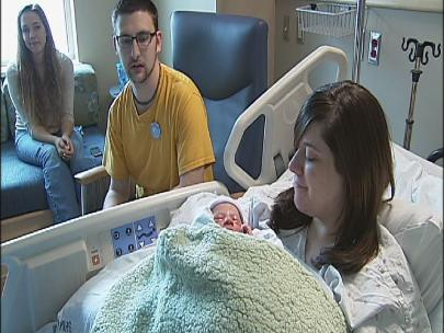 'It's very special': Baby born on 12-12-12