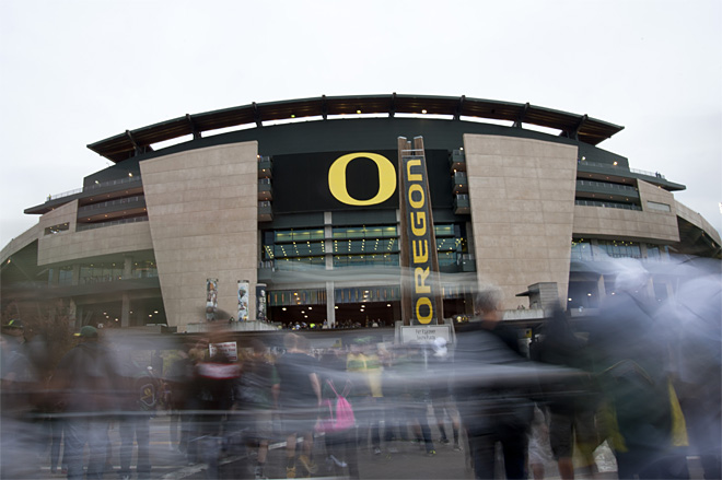 Ducks one of nation's best for 'green' athletics
