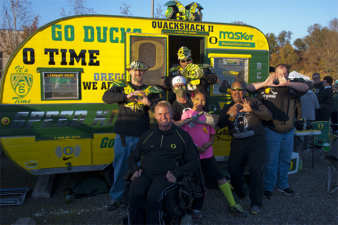 Tailgating at Autzen: Oregon vs. Washington State - Photo by Tristan Fortsch