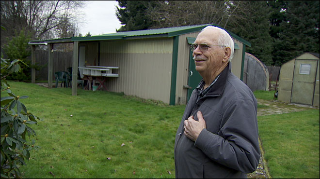 82-year-old tackles suspect, says he's OK