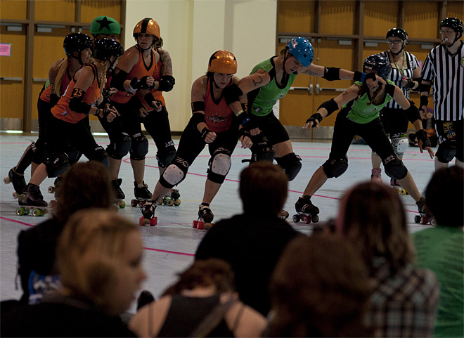 The Big O - Emerald City Roller Girls vs Sin City Roller Girls 34 - Photo by Tristan Fortsch _ KVAL News