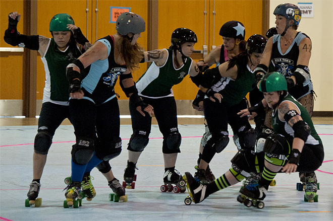 The Big O Derby - Sick Town Derby Dames vs Slaughter County Roller Vixens 03 _Friday 5-17