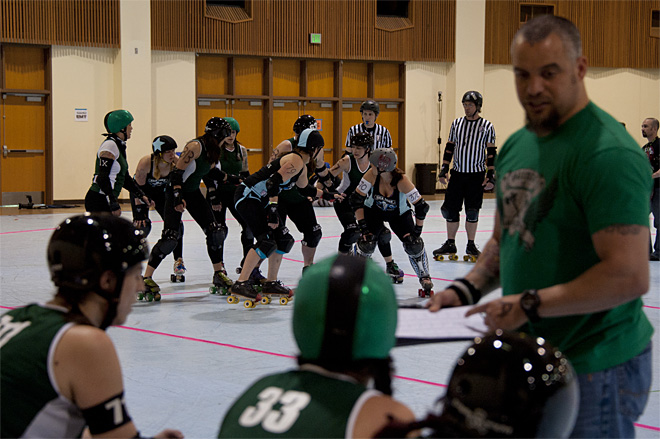 The Big O Derby - Sick Town Derby Dames vs Slaughter County Roller Vixens 04 _Friday 5-17