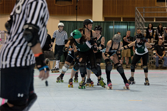 The Big O Derby - Sick Town Derby Dames vs Slaughter County Roller Vixens 05 _Friday 5-17