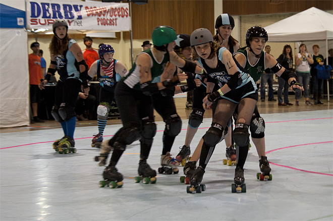 The Big O Derby - Sick Town Derby Dames vs Slaughter County Roller Vixens 07 _Friday 5-17
