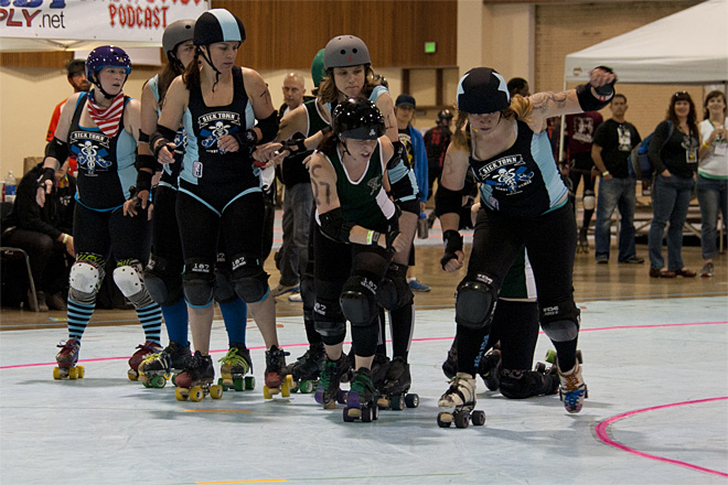 The Big O Derby - Sick Town Derby Dames vs Slaughter County Roller Vixens 31 _Friday 5-17