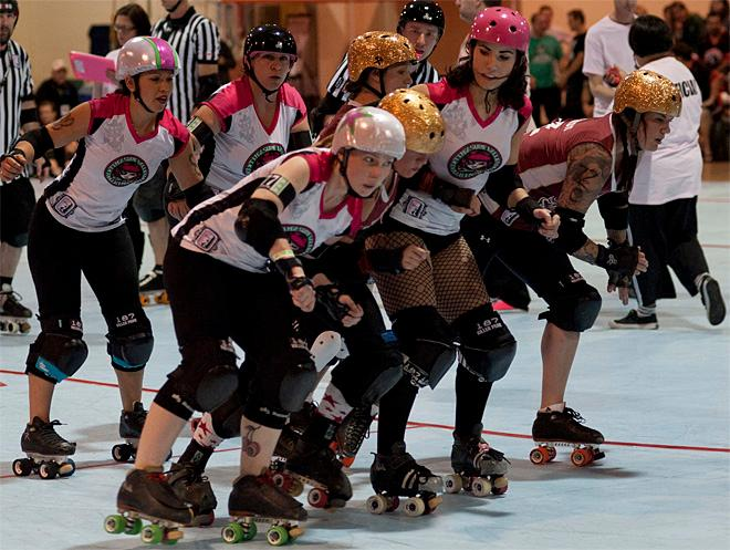 The Big O Tournament - Treasure Valley Roller Girls vs Humboldt Roller Derby 03 _Friday 5-17