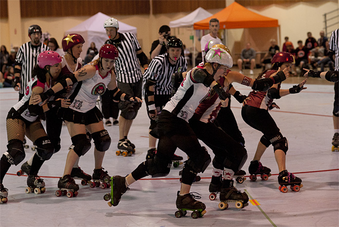 The Big O Tournament - Treasure Valley Roller Girls vs Humboldt Roller Derby 04 _Friday 5-17