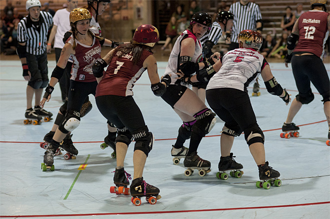The Big O Tournament - Treasure Valley Roller Girls vs Humboldt Roller Derby 06 _Friday 5-17
