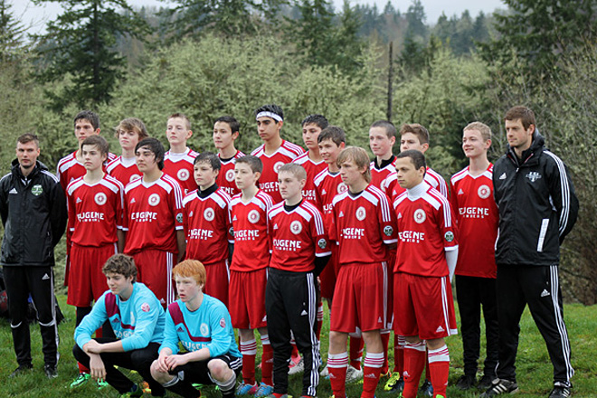 Eugene Timbers: 'It's really inspiring for the young kids'