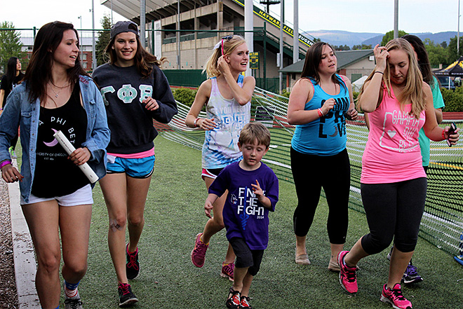 U of O Relay For Life: 'To have fun and fight back against cancer'