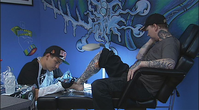 Waiting period for tattoos? 'What I want, where I want it'