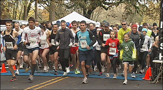 Third annual Turkey Trot 1