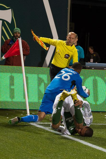 Portland Timbers fend off the San Jose Earthquakes in a 1-0 vict